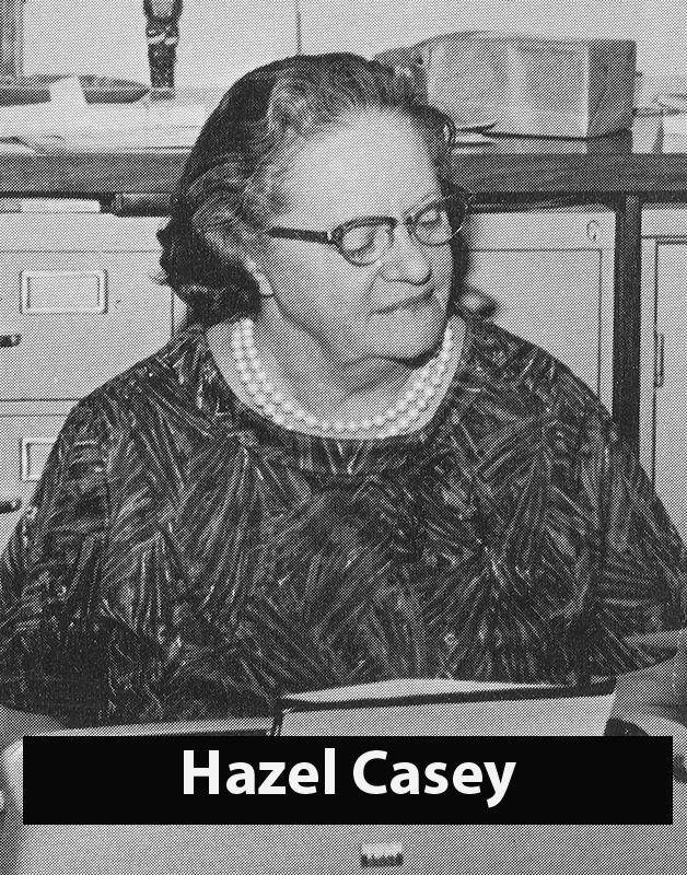 Casey, Hazel